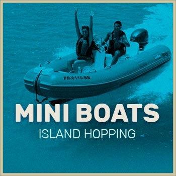 Mini Boat tour puerto rico icon